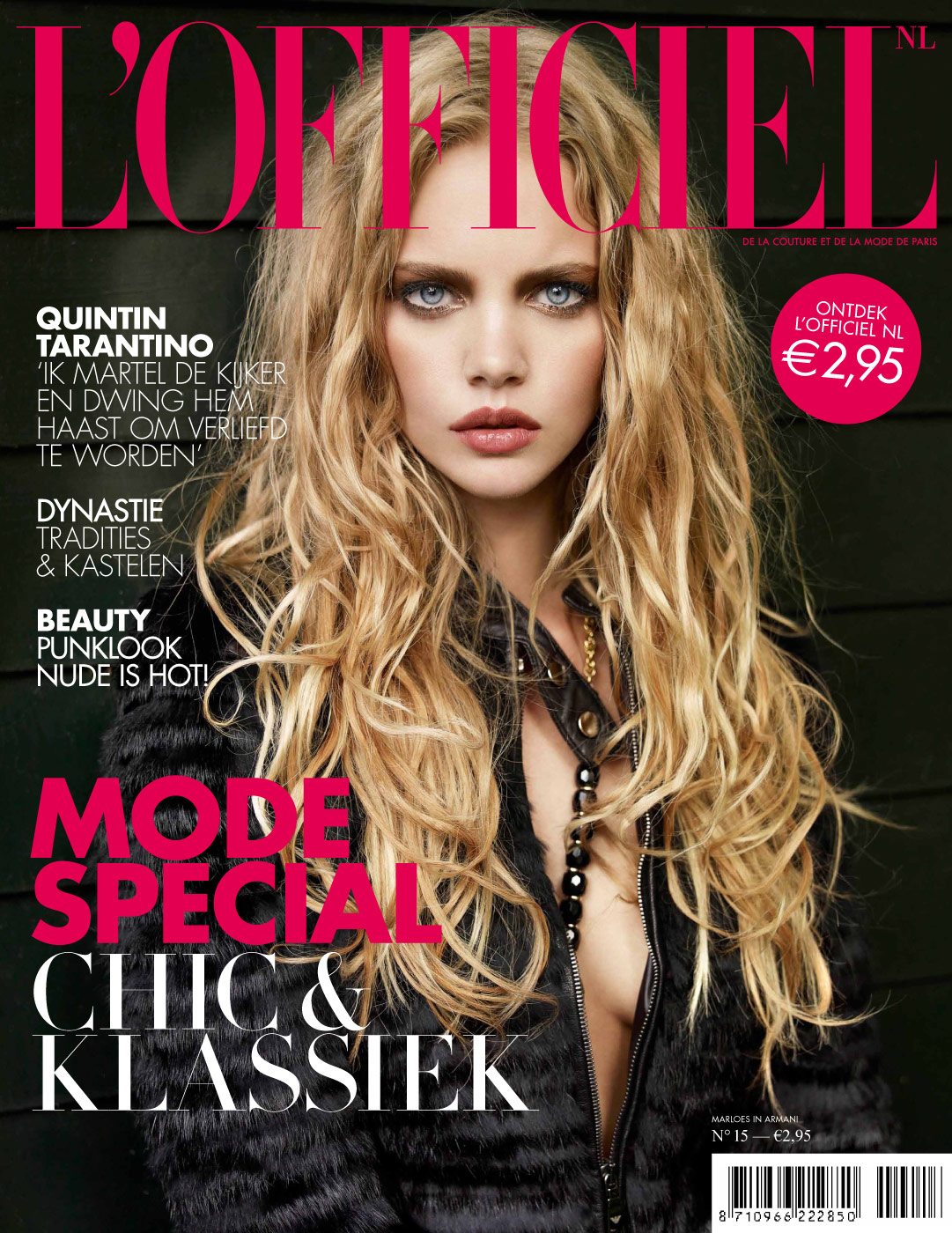 L'Officiel NL, design, arte direction, fashion magazine