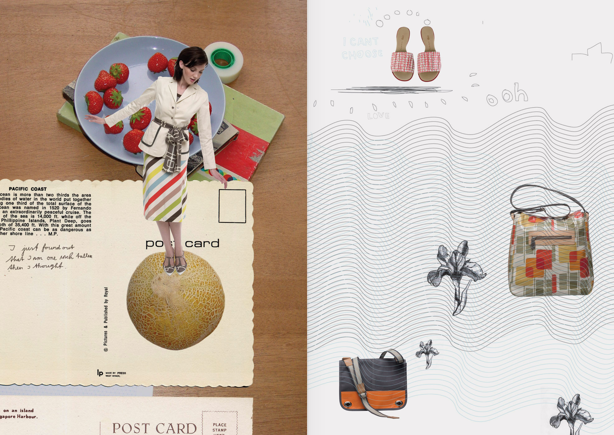 Orla Kiely, brochure, graphic design, art direction, iluustration