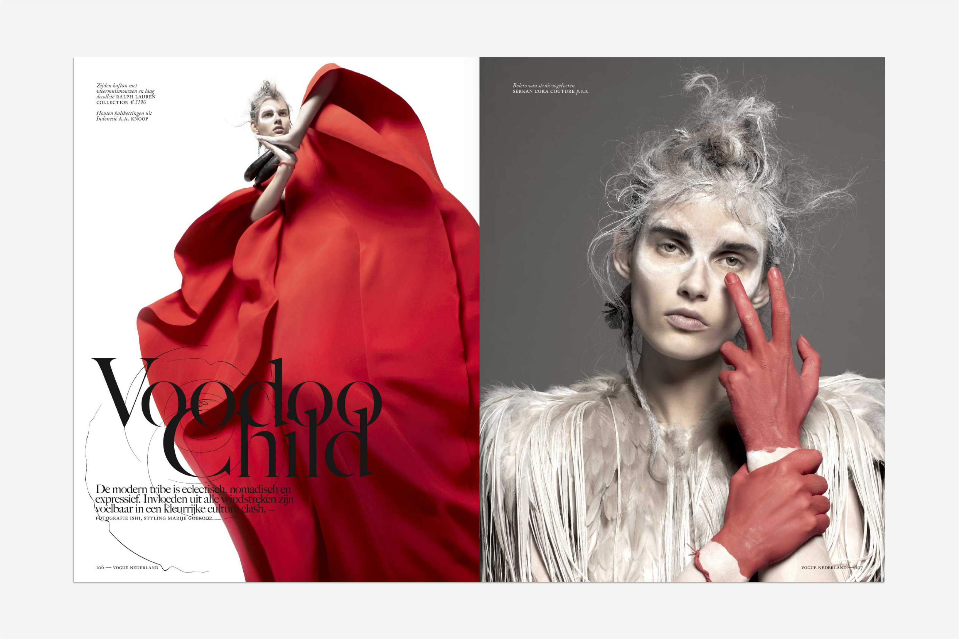 Vogue nederland, magazine, editorial design