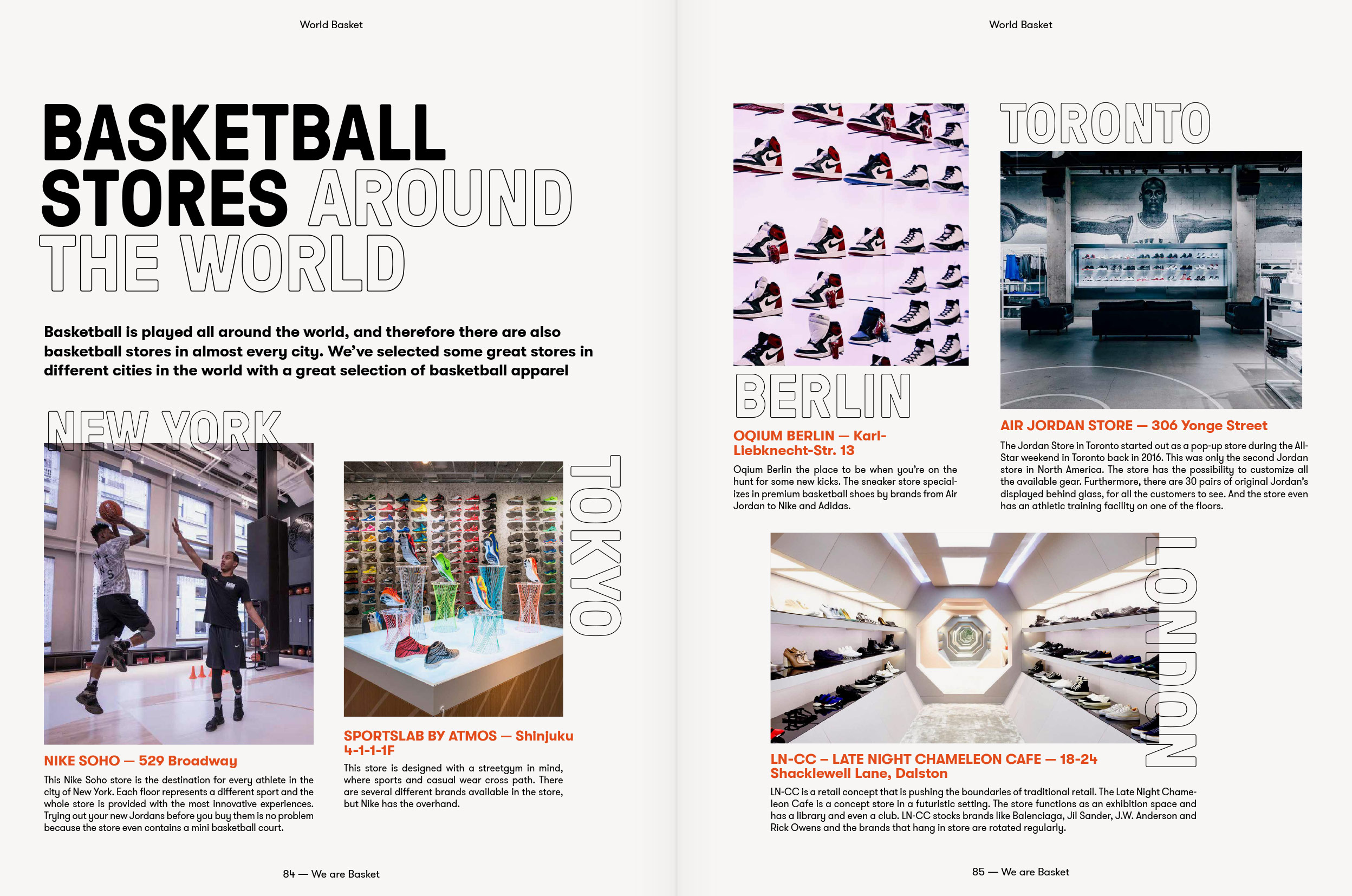 We are basket, magazine, editorial design