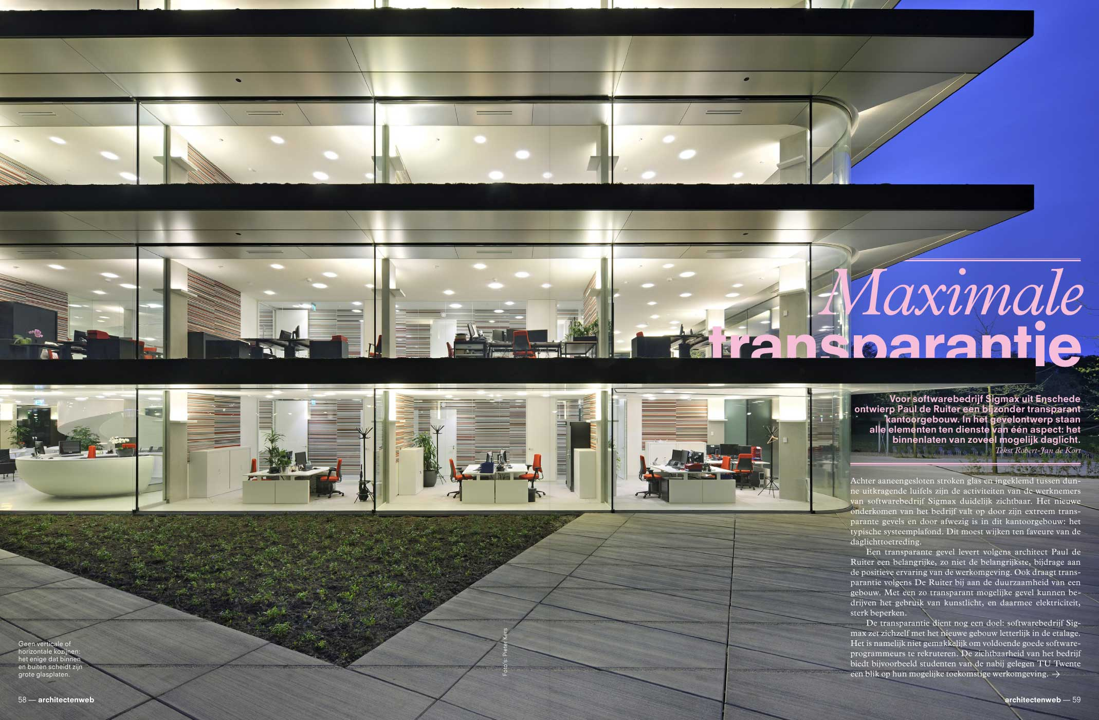 architectenweb, magazine, editorial design, architecture