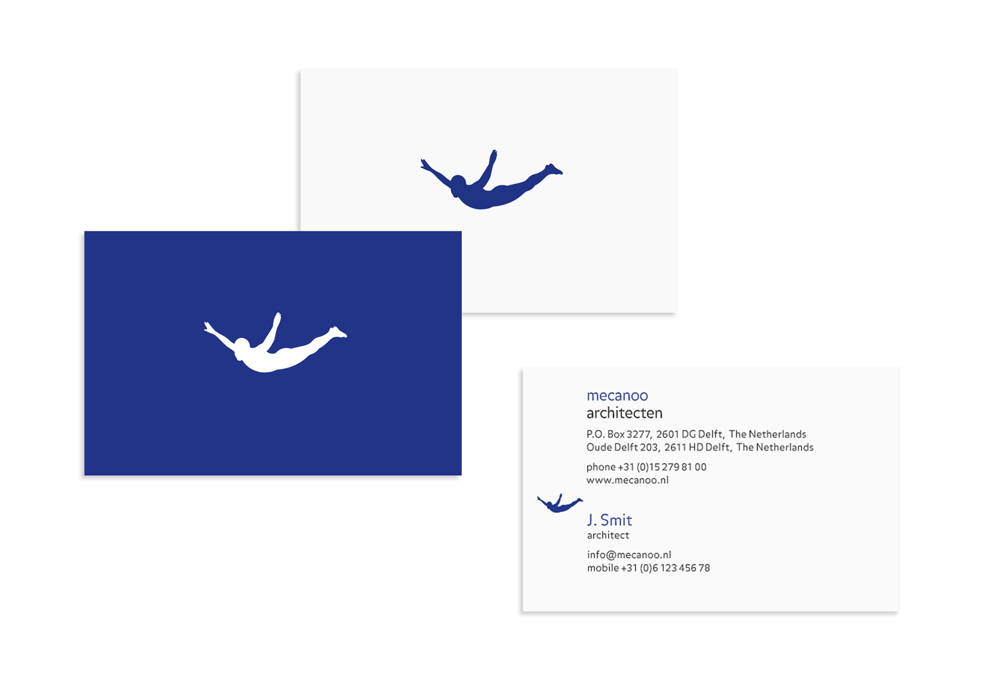 mecanoo, businesscard, identity design