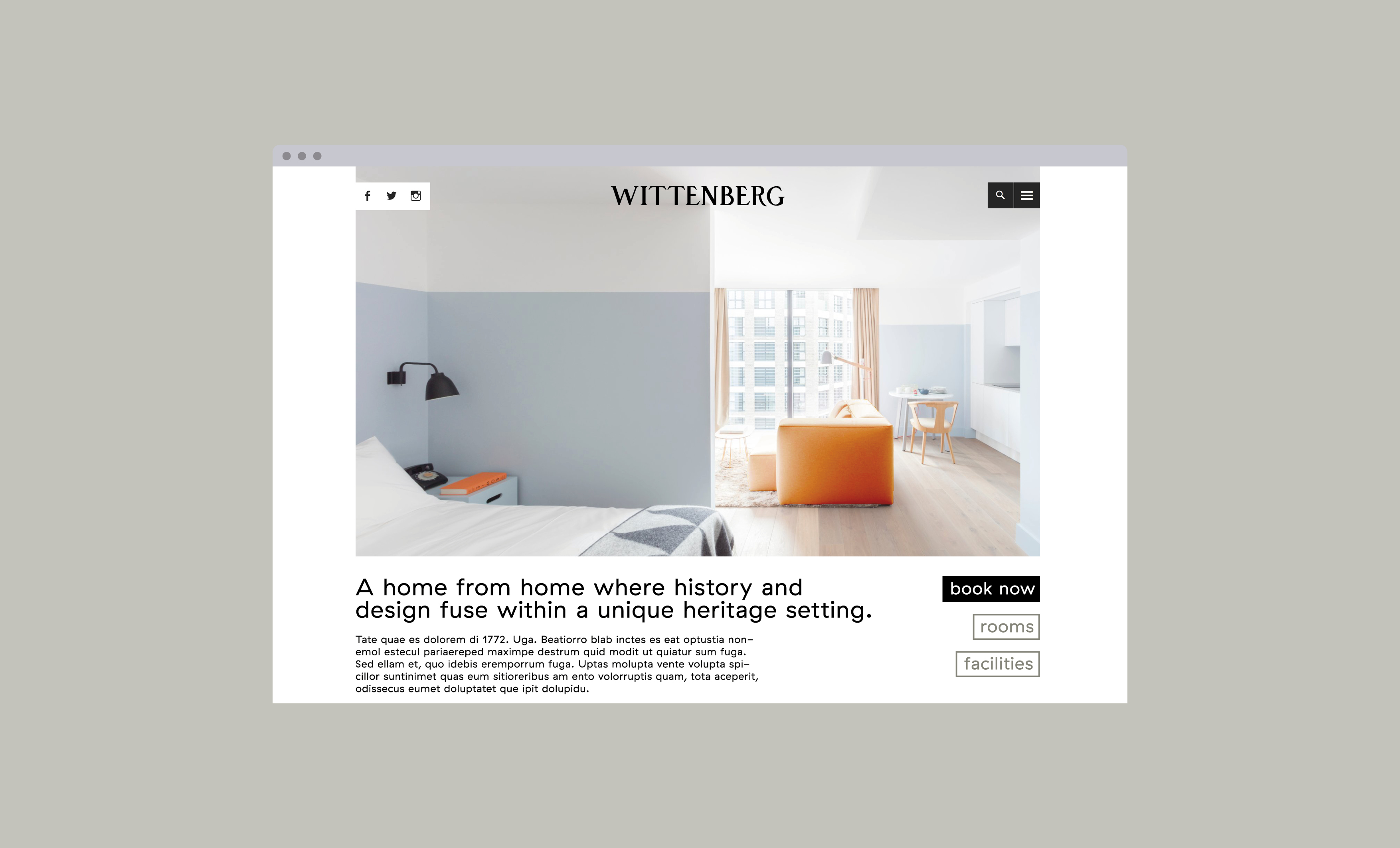 Wittenberg, webdesign, website, branding